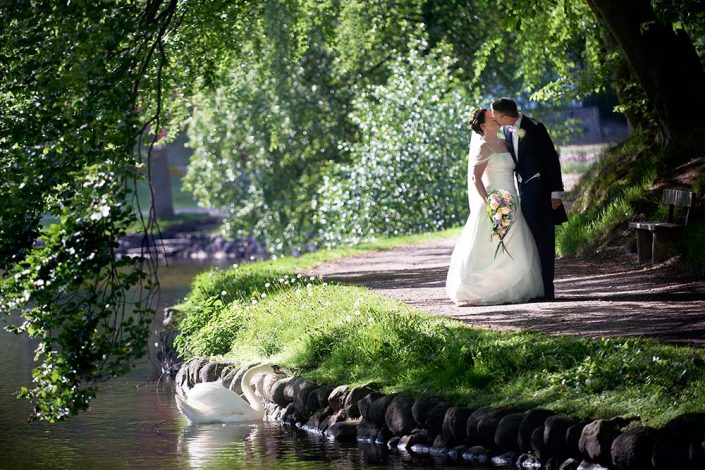 Romantisk bryllupsfotografi