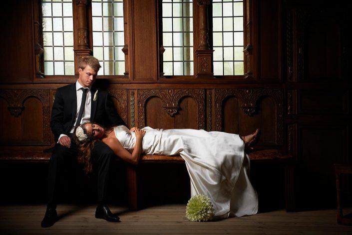 Kreativt bryllupsfotografi
