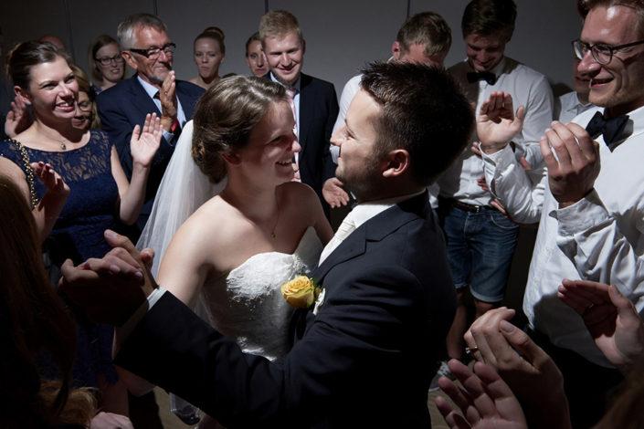 Bryllupsfoto af brudevals