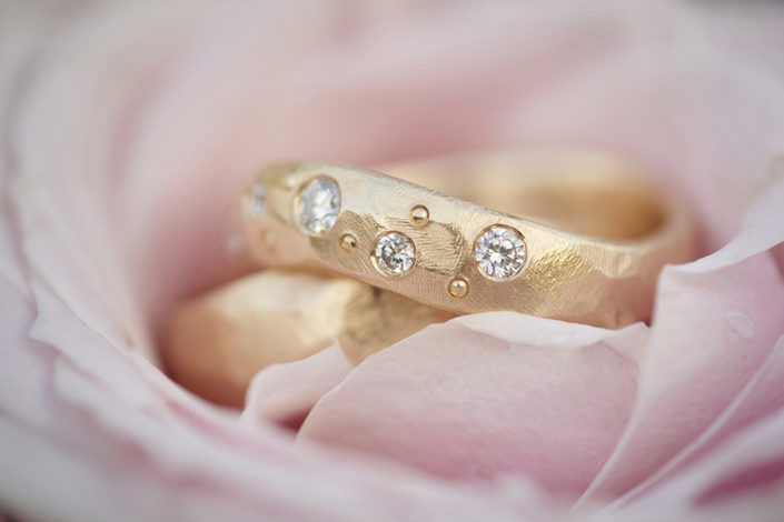 Bryllupsfotografi vielsesringe